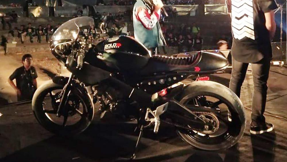 Honda CBR250RR Modifikasi Cafe Racer