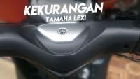 Kekurangan Yamaha Lexi 125