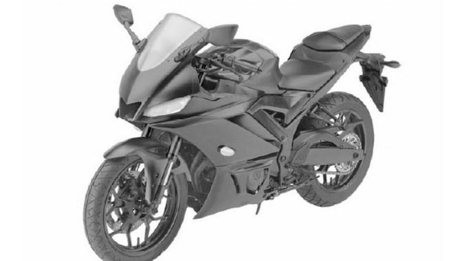 Paten Design Yamaha R25 2019 sisi depan