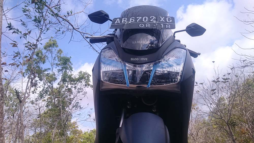 Yamaha Lexi 125 blogotive