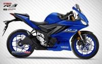 Design Yamaha R25 2019 Biru