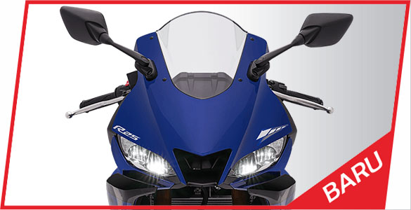 Headlamp Yamaha R25 facelift