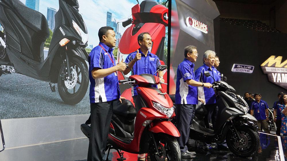 Manajemen Yamaha Indonesia memperkenalkan FreeGo