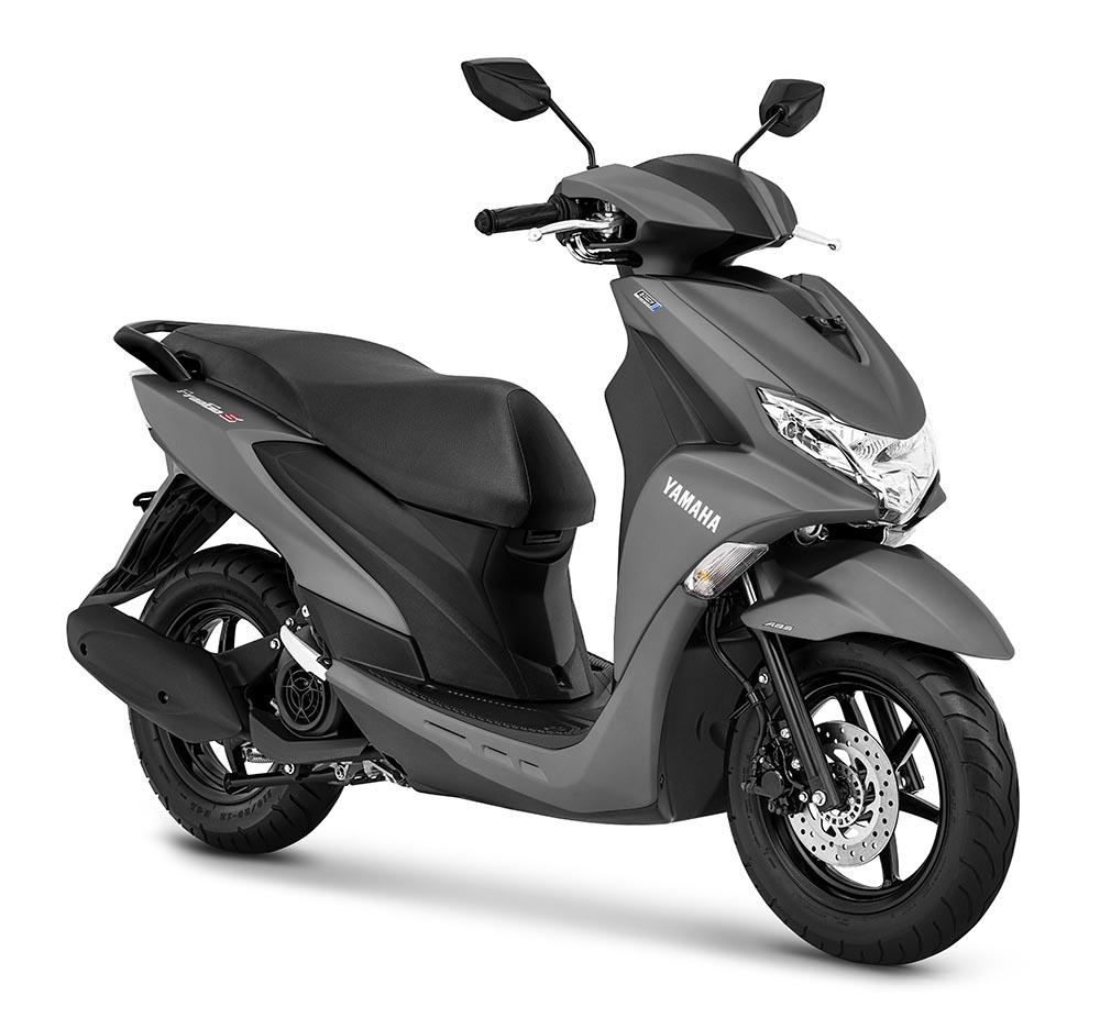 Yamaha FreeGo S Abu-abu Doff