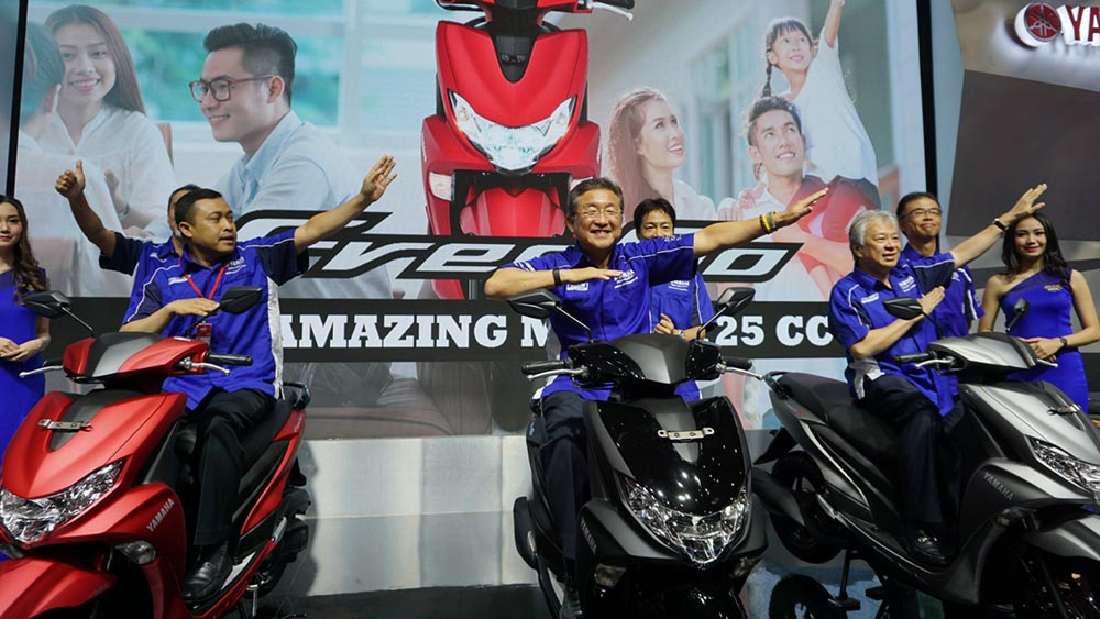 Yamaha Indonesia launching Yamaha FreeGo di IMOS