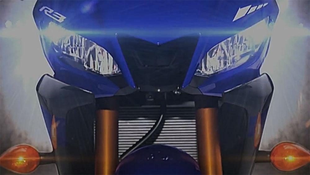 Yamaha R25 terbaru 2019 dengan LED Headlight
