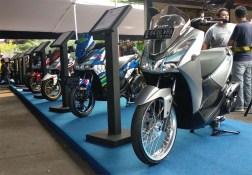 Modifikasi Yamaha Lexi 125 di CustoMAXI Bekasi sebelum Jogja