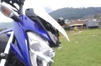 Yamaha Vixion R background gunung lawu