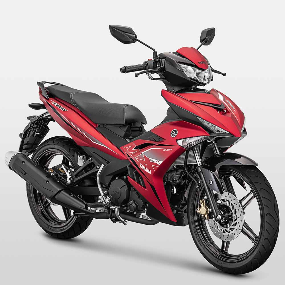 Yamaha Jupiter MX King facelift 2019 merah