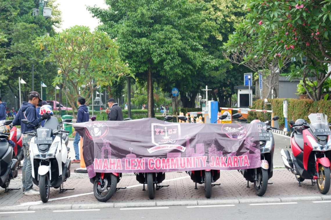 Komunitas Yamaha Lexi Community Indonesia (YLCI)