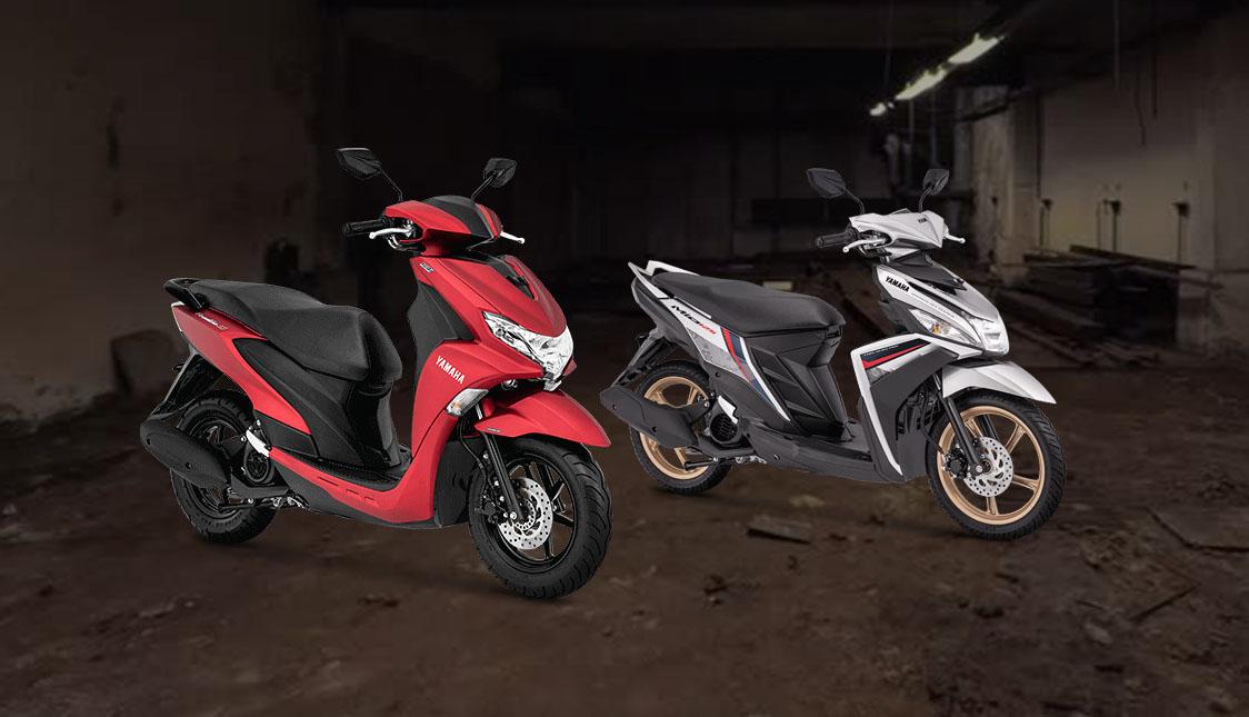 Yamaha FreeGo vs Mio 125
