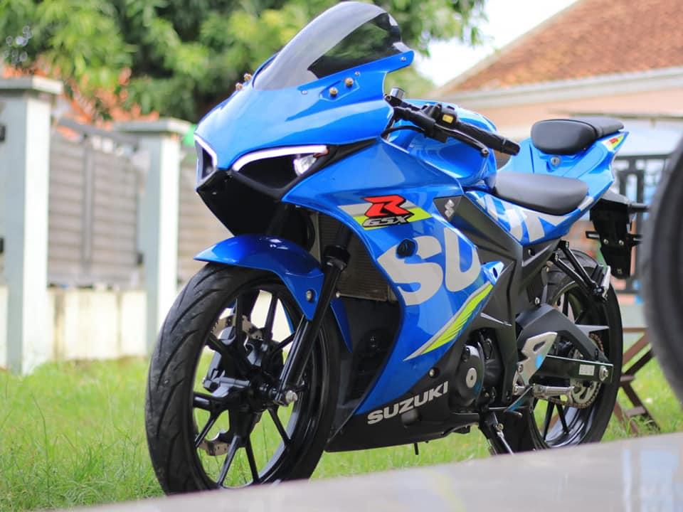Modifikasi Suzuki GSX-R150 Ala Ducati Panigale, Keren Cuma