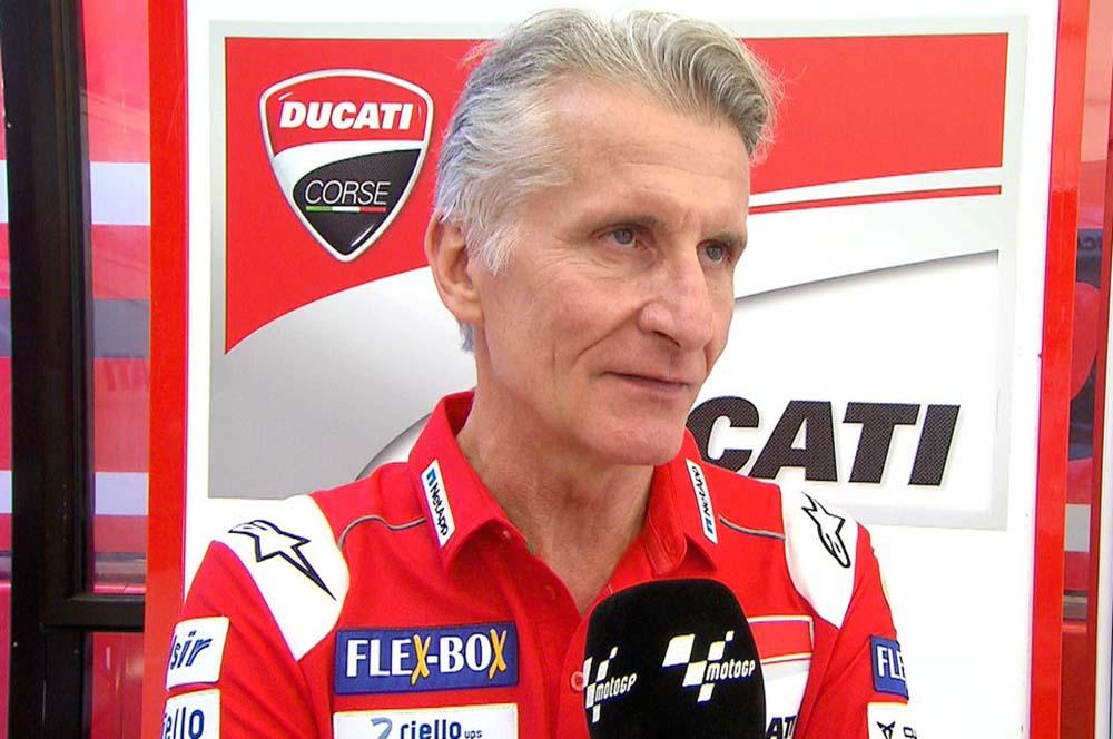 Paolo Ciabatti, Direktur Olahraga Ducati