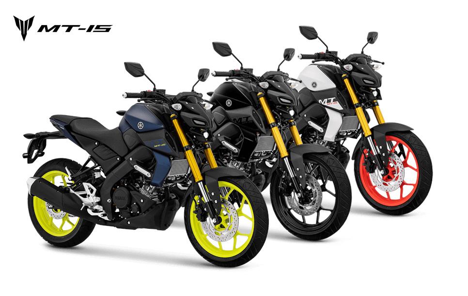 Pilihan Warna Yamaha MT-15