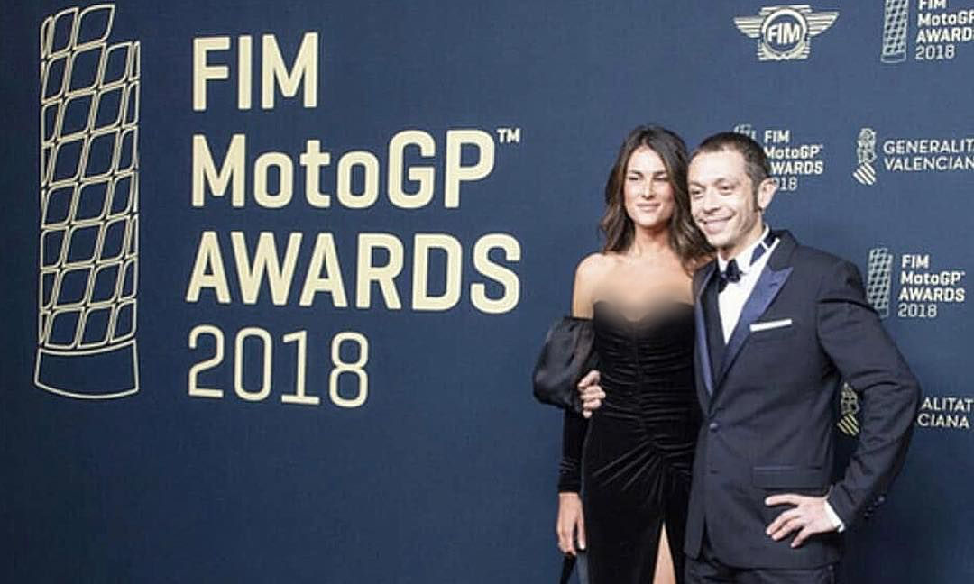 Rossi dan pacarnya, Francesca Sofia
