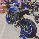 Yamaha MT-15 view dari bellakang keren abis