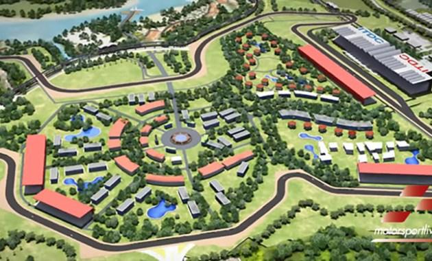 Gambar Sirkuit Mandalika MotoGP 2021