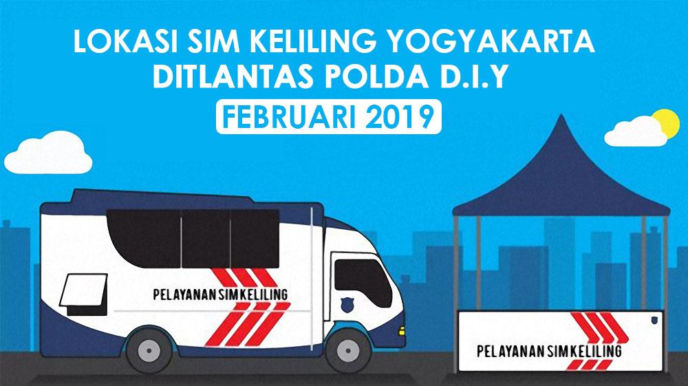 Lokasi SIM Keliling Jogja Februari 2019 Ditllantas Polda D.I.Yogyakarta