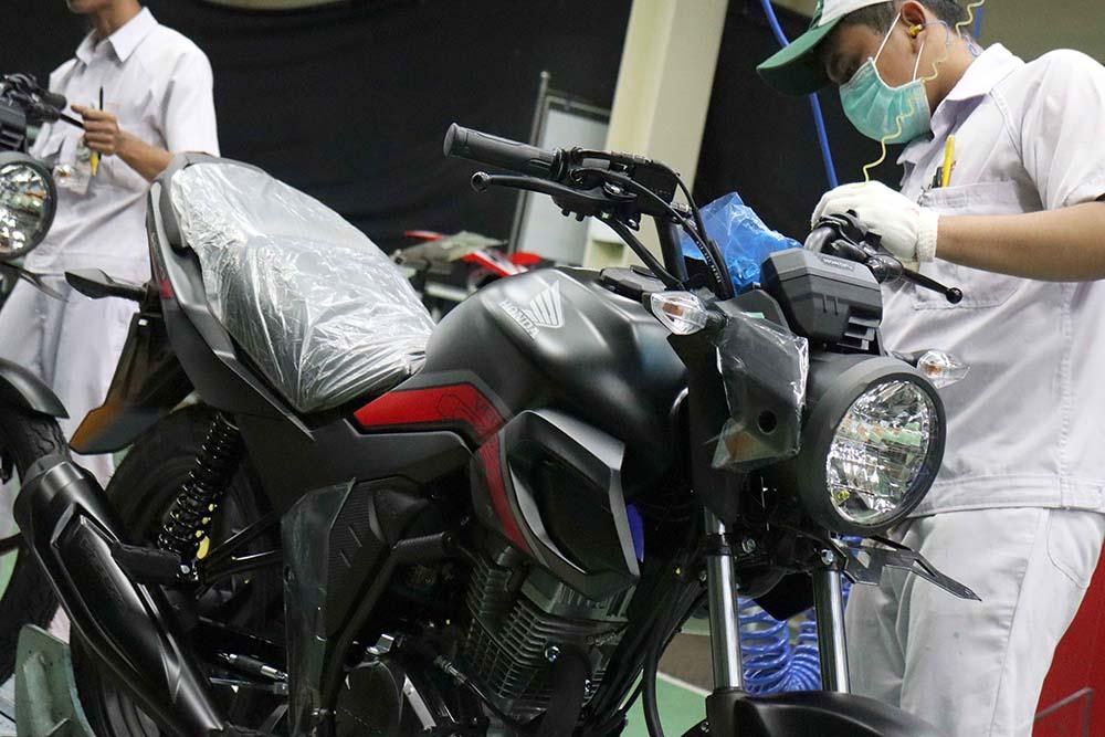 Warna Baru Honda CB150 Verza 2019