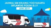 Jadwal SIM Keliling Jogja bulan Juni 2019