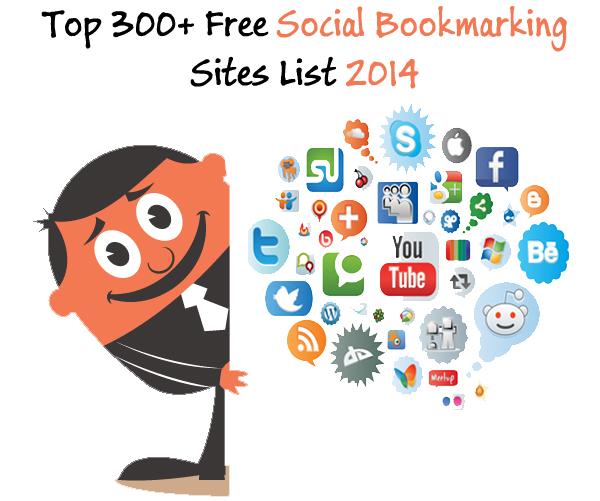 top high pr social bookmarking sites 2014