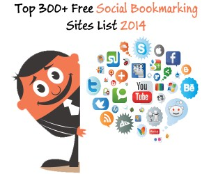 top high pr social bookmarking sites 2014