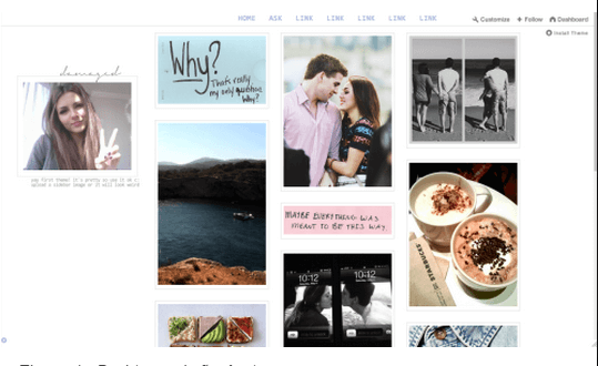 CROOKEDS TUMBLR THEME