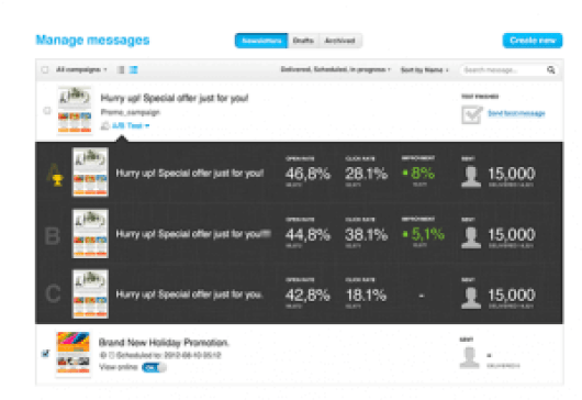 get response manage feature