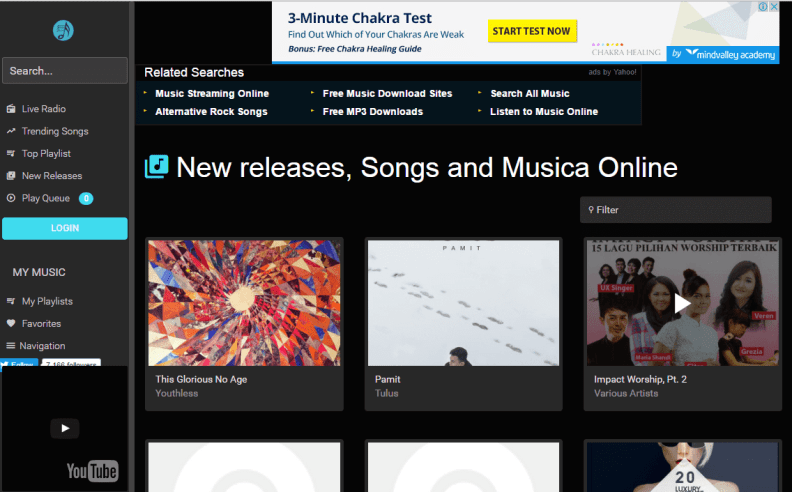 Playlistsound Unblocked Music Site