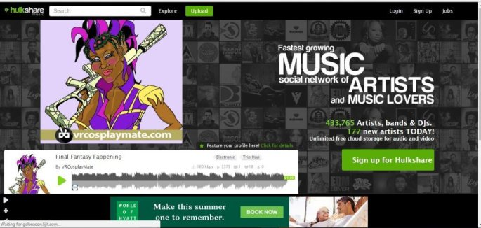 Best HulkShare music site