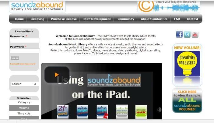 Soundzabound music streaming