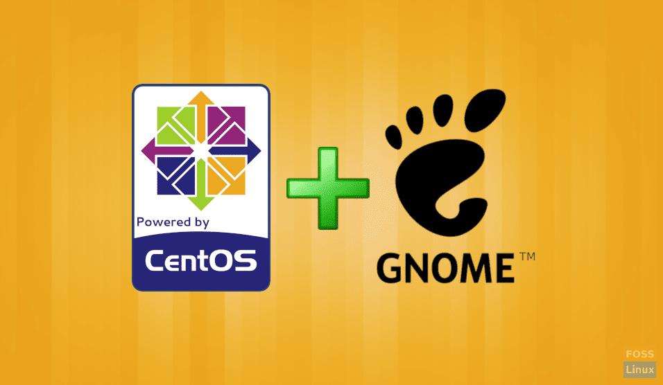 install-gnome-on-centos