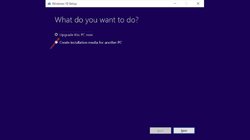 Langkah update windows 10