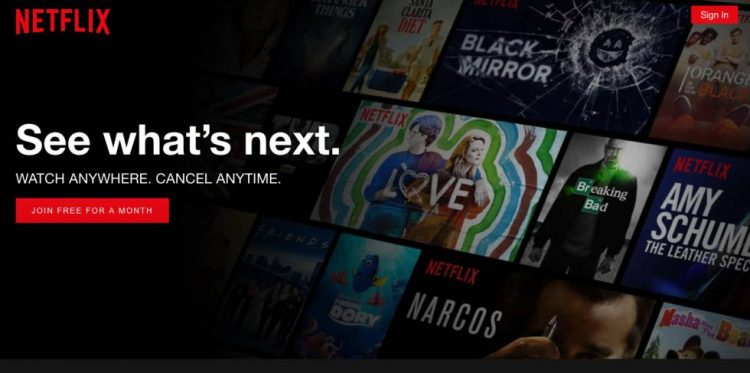 Alternatif IndoXXI terbaru Netflix