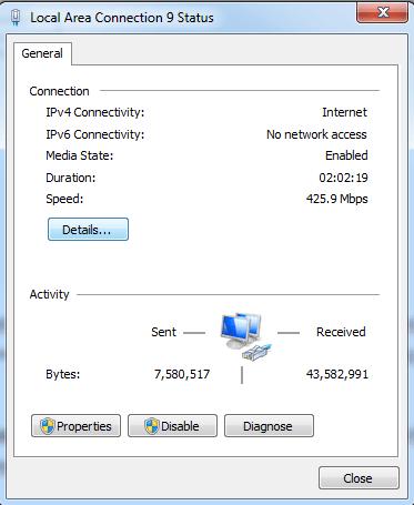 Detail IP Laptop