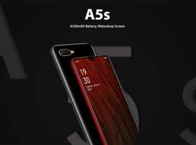 Oppo A5s Display