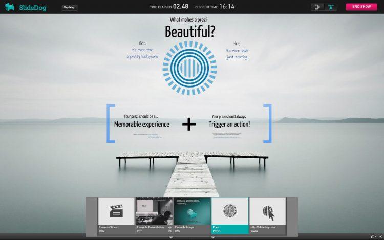 aplikasi presentasi SlideDog
