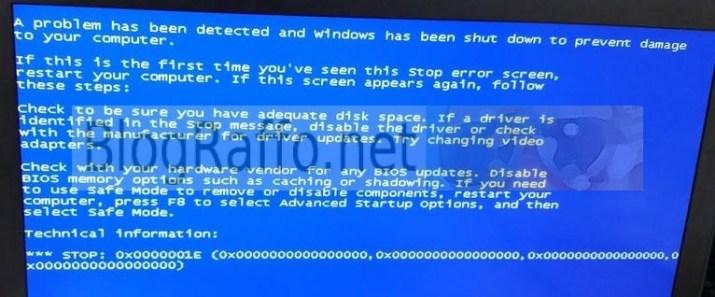 Windows-crash