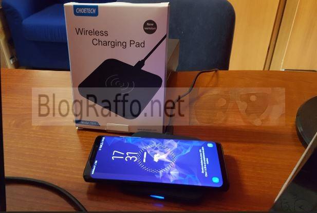 S9 Samsung ricarica wireless