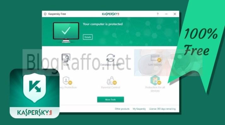 Kaspersky antivirus gratuito