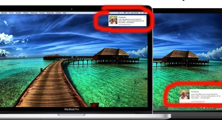 Notifiche Web browser