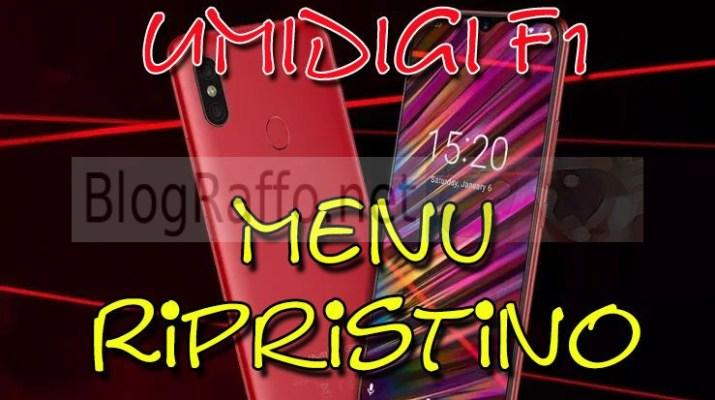 umidigi-f1-recovery-menu-ripristino