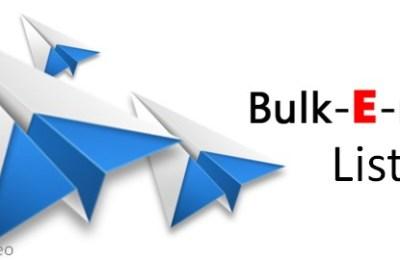 Bulk Email List
