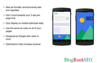 Monitization Adsense Page Level Ads