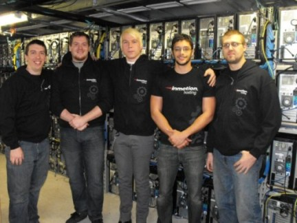 Inmotion-data-center-team