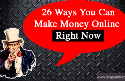 Make Money Right Now