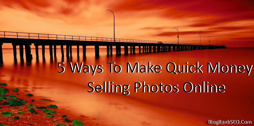 Selling Photos Online