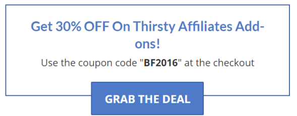 thirstyaffiliate-black-friday-cyber-monday-discount