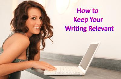 Writing Relevant
