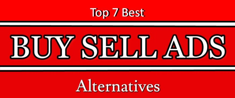 Best buysellads alternatives